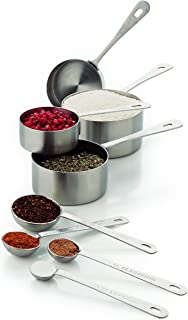 Amco Professional Performance Measuring Cups and Spoons, Set of 8