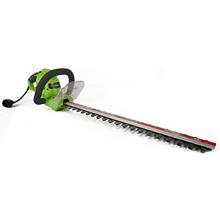 Amazon Com Greenworks 4 Amp 22 Inch Dual Action Corded Hedge Trimmer 22122 Power Hedge Trimmers Garden Outdoor