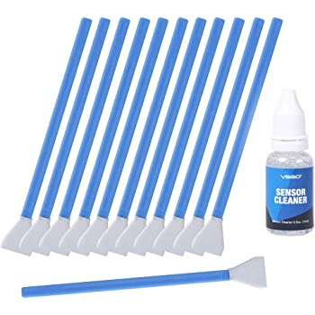11 In 1 VSGO D-15820 Lens Paper Air Blower APS-C Sensor Cleaning Swab DSLR Camera Cleaning Kit