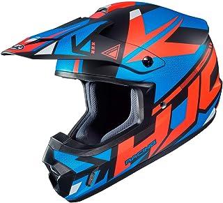 HJC CS-MX II Madax Motocross Helm Schwarz/Rot/Blau L 59/60