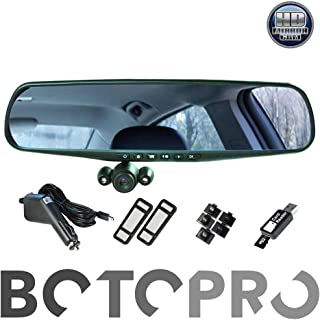 BOTOPRO - HD Mirror CAM, el Retrovisor con Cámara HD para e