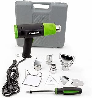 Kawasaki 10 pc Dual Temperature Heat Gun Kit - 840015 Few power tools are as versatile and handy as a heat gun