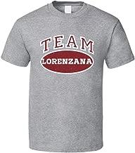 Team Lorenzana Tee Funny Last Name Family Reunion Group T Shirt