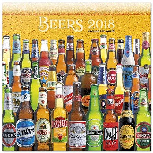 Grupo Erik Editores   Calendario 2018 30X30 Cervezas