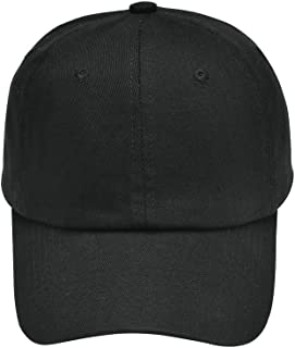 Classic Baseball Cap All Cotton Made Adjustable Fits Men Women Hat Unconstructed Dad Hat