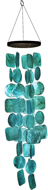 Campanas de Viento Artesanal (turquesa)