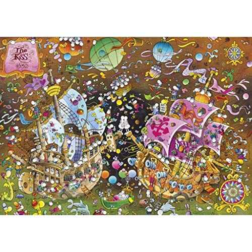 Schilderen Puzzle Guillermo Mordillo Famous, Boxed Toys Art Game For Adults & Kids 2000 Stuks