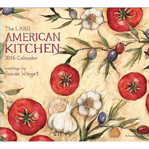 Susan Winget American Kitchen 2016 Wall Calendar
