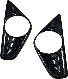 ミニウエス付 トヨタ 新型 30系 前期 アルファード カーボン フォグランプ カバー ガーニッシュ ノーマルバンパー用 X G GF フォグカバー