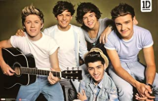 Pyramid America One Direction Guitar Music Cool Wall Decor Art Print Poster 34x22
