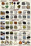 Picture Peddler Introduction to Rocks Geology Educational Science Classroom Chart Print Poster 24x36