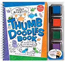 Klutz The Most Amazing Thumb Doodles Book: In The History of The Civilized World Book