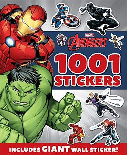 Marvel Avengers : 1001 Stickers (1001 Stickers Marvel