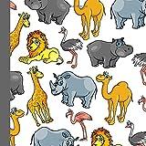 Safari Party Guest Book: Beautiful Safari Party Guest Book For a Memory Keepsake to Treasure Forever (Safari Party Invitations,Safari Party Supplies,Safari Party Decorations, Band 1)