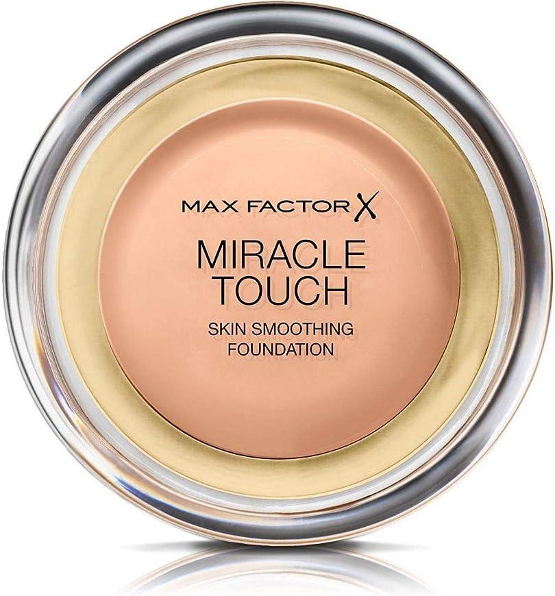 全能防腐剤壮大マックス ファクター ミラクル タッチ スキン スムーズ ファウンデーション - ローズ ベージュ Max Factor Miracle Touch Skin Smoothing Foundation - Rose Beige 065 [並行輸入品]
