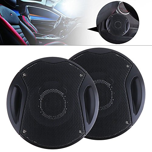 ePathChina® 2 pcs 4 Inch 250W Car HiFi Coaxial Speaker Vehicle Door Auto...