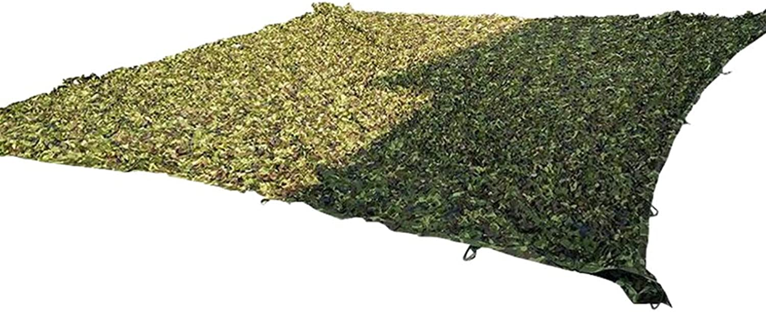 Camouflage Netting Oxford Polyester Woodland UV Resistant Camo Net Blinds for Sunshade Camping Shooting Hunting Photography Jungle