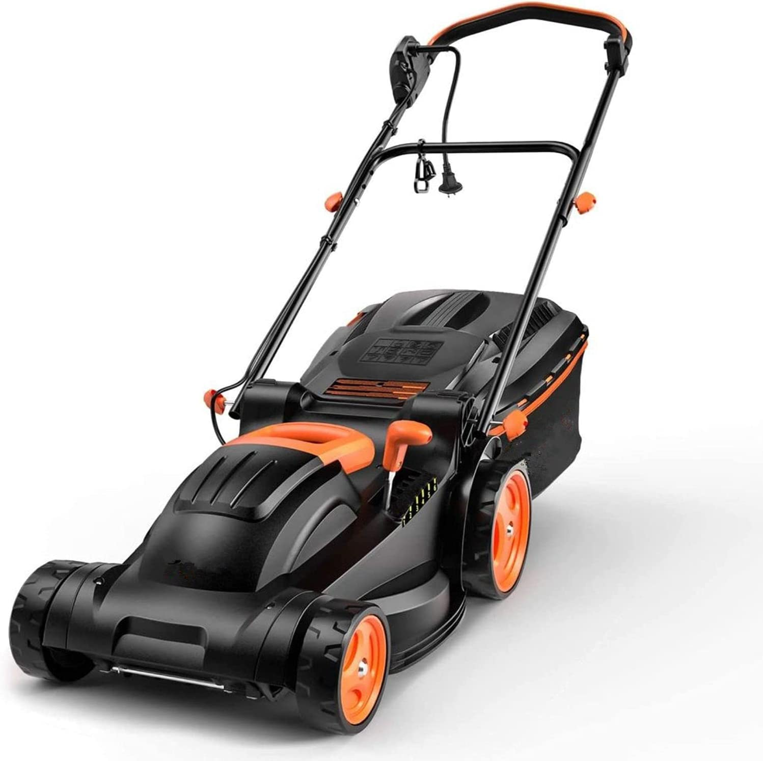 """1256 14""""  10-Amp Electric Lawn Mower $84.99 Coupon"""