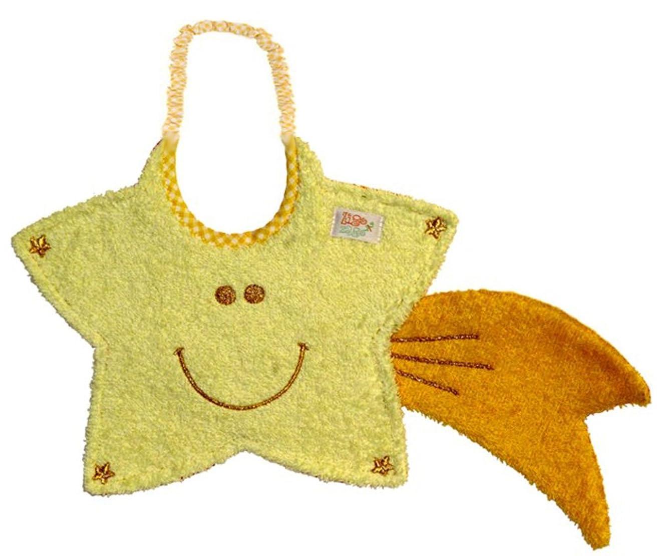 Zigozago - Baby Bib Comet Star; Tie: Elastic; One Size - Christmas