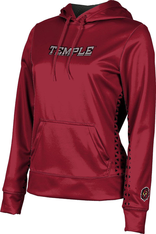 ProSphere Temple University Girls' Pullover Hoodie, School Spirit Sweatshirt (Geo)