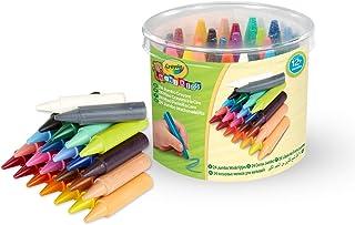 """Crayola - Mini Kids - 24 """"Maxi"""" crayons à la cire - Coloriage pour enfant et tout petit - 256243.012"""