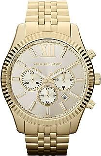Michael Kors Women's Chronograph Lexington Goldtone Stainless Steel Bracelet Watch