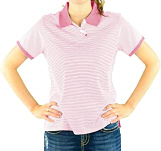 D350W Women's Northport Jersey Striped Polo
