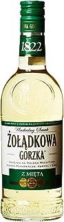 6 Flaschen Zoladkowa Mint Wodka 36% Vol. 6 x 0,5L