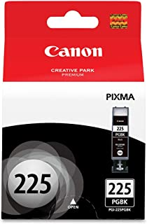 Canon PGI-225 Black Ink Tank Compatible to iP4820, MG5220, MG5120, MG8120, MG6120, MX882, iX6520, iP4920, MG5320, MG6220, MG8220, MX892, 1 Pack (PGI-225 Pigment Black) (CNMPGI225BK)