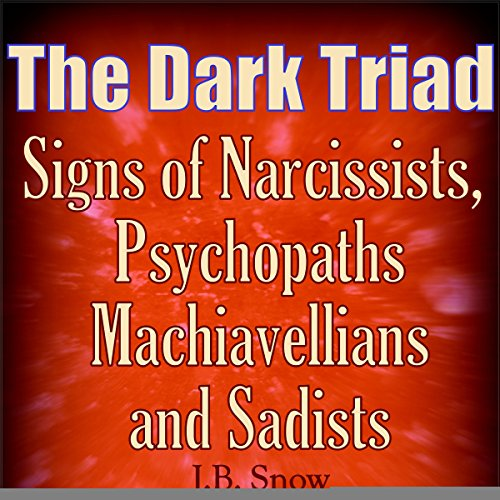 The Dark Triad: Signs of Narcissists, Psychopaths, Machiavellians, and Sadists audiobook cover art