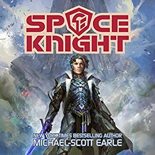 Space Knight audiobook cover art