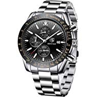 BENYAR Fashion Men's Quartz Chronograph Waterproof Watches Business Casual Sport Design Wrist...