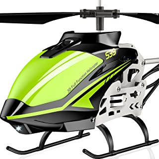 SYMA RC Helicopter, S39 Aircraft with 3.5 Channel,Bigger Size, Sturdy Alloy Material, Gyro Stabilizer and High &Low Speed,...