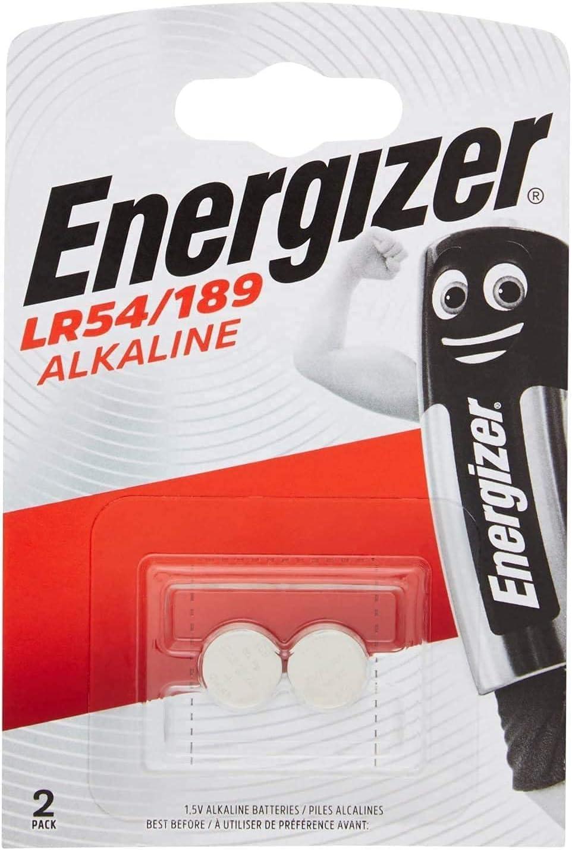 Hold. Energizer Pila Alcalina Botón LR54 / 189 - Blister 2
