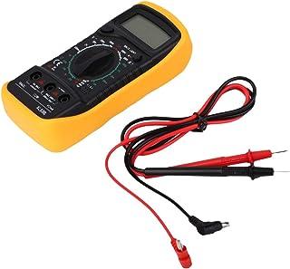 Ballylelly Auto Polaritätsanzeige Digital Multimeter XL830L Volt Meter Amperemeter Ohmmeter Gelb Tester Durchgangsprüfung Mit Summer Sound
