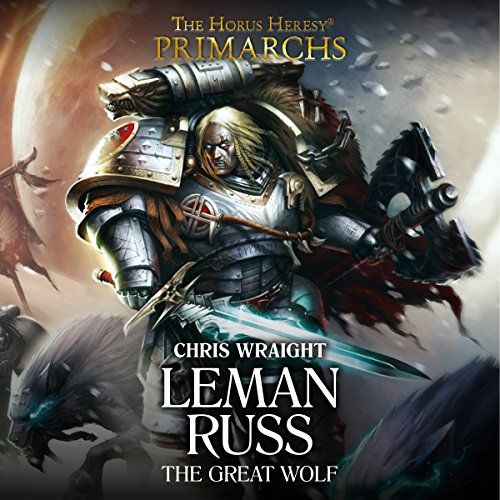 Leman Russ: The Great Wolf audiobook cover art