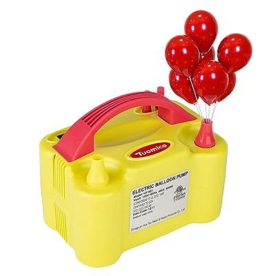 Tuomico Electric Air Balloon Pump,Portable Dual...
