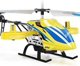 JJRC RC Helicopter, Aircraft with 4 Channel, Altitude Hold Flying Toy in Sturdy Alloy Material,Gyro Stabilizer Multi-Prote...
