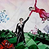Chagall cod. 01 Poster cm 50x50 Affiche Plakat Fine Art Il