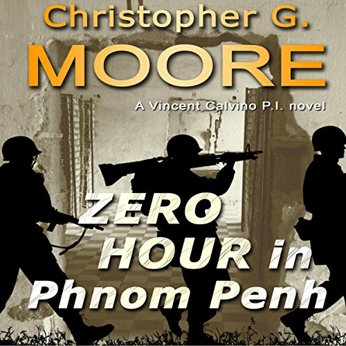 Zero Hour in Phnom Penh audiobook cover art