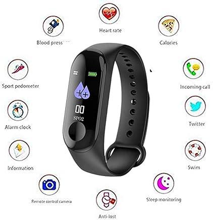 WUNDERSCHON Activity Tracker/Bracelet Watch for Men/Fitness Watch for Women/Fitness Watch for Men/Health Watch/Health Band/Health Band & Activity Tracker/Wrist Smart Band/Heartbeat Watch