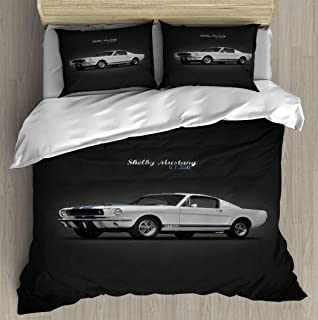 A37mieeooopa 65 Shelby Gt350 Bedding Duvet Cover Set Duvet Cover Twin Bedding Sets Home Decor Soft Comfy