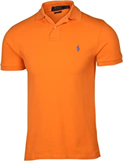 Polo Ralph Lauren Men's Slim Fit Cotton Pique Mesh Polo Shirt
