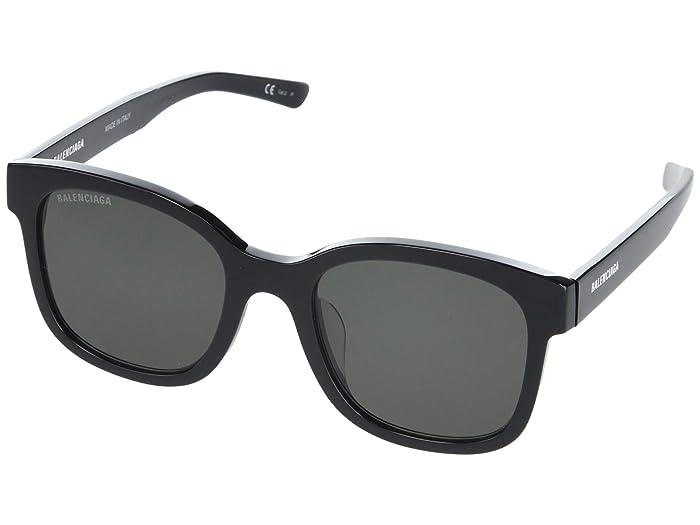 Balenciaga  BB0076SK (Black) Fashion Sunglasses