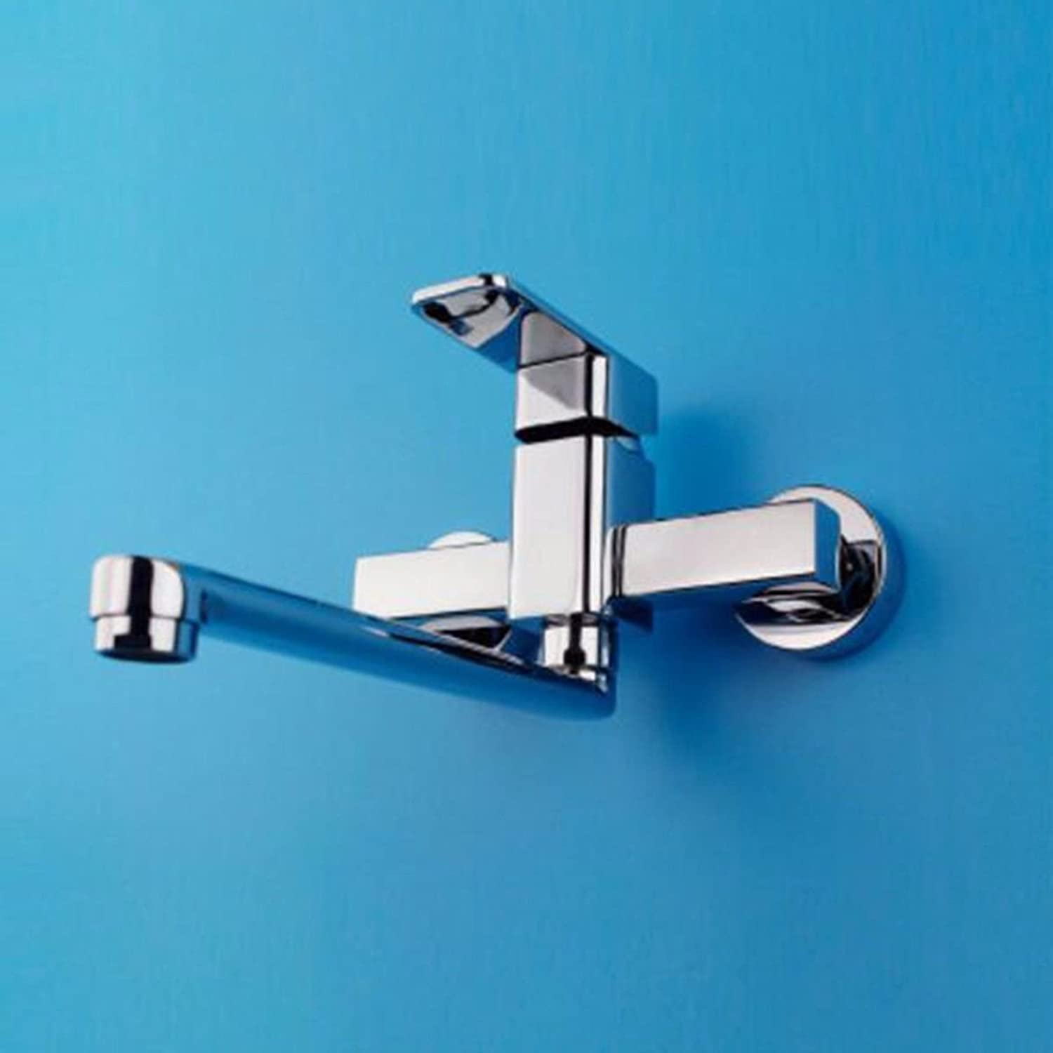 Gyps Faucet Basin Mixer Tap Waterfall Faucet Antique Bathroom Mixer Bar Mixer Shower Set Tap antique bathroom faucet The copper kitchen cold water taps into the wall two holes, hot and cold water mixi