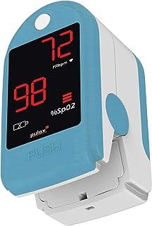 Pulox PO-100 - Oxímetro, pantalla LED, con accesorios