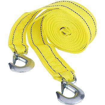 5000kg 5t 3,5 M Corda di Traino Rimorchio Cinghia Resistente da Strada Recupero