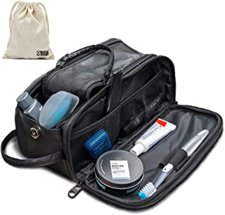 Toiletry Bag for Men or Women – Dopp Kit For Travel. Large Cosmetic and Shaving..