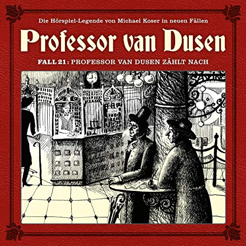 Professor van Dusen zählt nach audiobook cover art