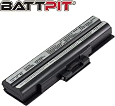 Battpit™ Laptop/Notebook Battery for Sony VAIO VGN-CS115J VAIO VGN-CS115 Series VAIO VGN-CS110E/R VAIO VGN-CS110E/Q VAIO VGN-CS115J/P VAIO VGN-CS110E/W (4400 mAh / 49Wh)